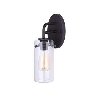 """Canarm IVL679A01 Albany Single Light 4-3/4"""" Wide Bathroom Sconce"""