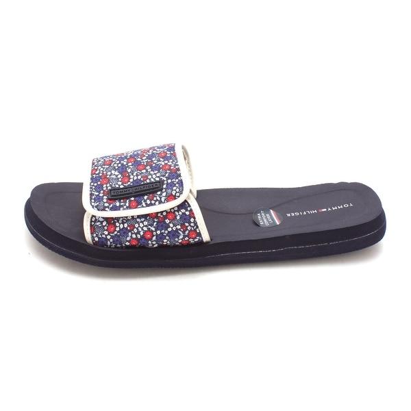 Tommy Hilfiger Womens Mysha2-X Open Toe Casual Slide Sandals - 8