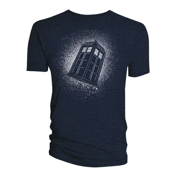 Doctor Who Classic Mens T-Shirt Tardis Starburst