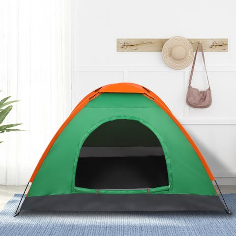 2-Person Waterproof Camping Dome Tent for Outdoor Hiking Survival
