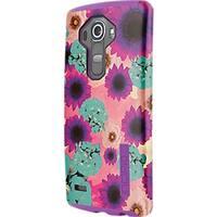 Incipio DualPro Shock absorbing Case for LG G4 - Flowers/Purple