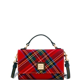 Dooney & Bourke Tartan Small Mimi Crossbody (Introduced by Dooney & Bourke at $168 in Sep 2016) - Red