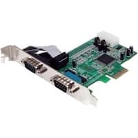 Startech.Com Pex2s553 2 Port Native Pci Express Rs232 Serial Adapter Card