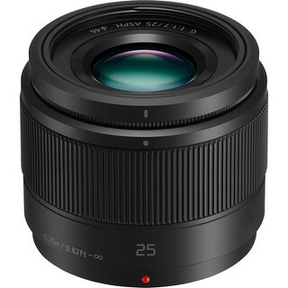Panasonic Lumix G 25mm f/1.7 ASPH. Lens - black