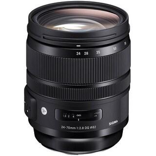 Sigma 24-70mm f2.8 DG OS HSM ART Lens for Canon EF - black