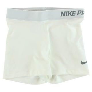 Nike Womens Pro Three Inch Training Shorts White - M