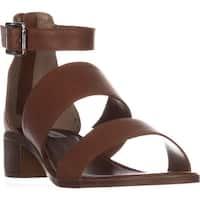 Steve Madden Daly Mule Flat Sandals, Cognac