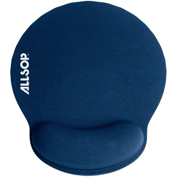 Allsop 30206 Memory Foam Mouse Pad (Blue)