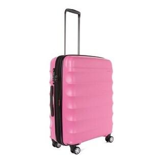 Antler Juno DLX Hardside Expandable Luggage Large, Pink