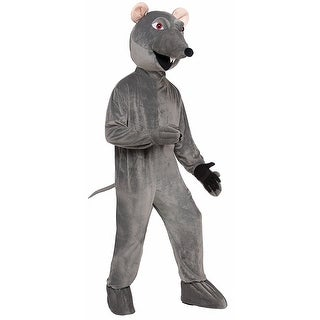 Rat Adult Mascot Costume Gray