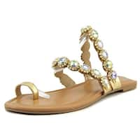 Thalia Sodi Womens joya Open Toe Casual Slide Sandals - 6