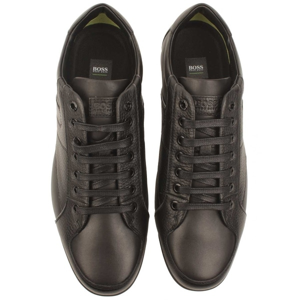 hugo boss saturn low leather trainers