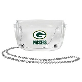 Green Bay Packers Clear Waist Pack/Crossbody Purse