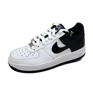 Nike Grade-School Air Force 1 White/Obsidian 314192-142 Size 5.5Y