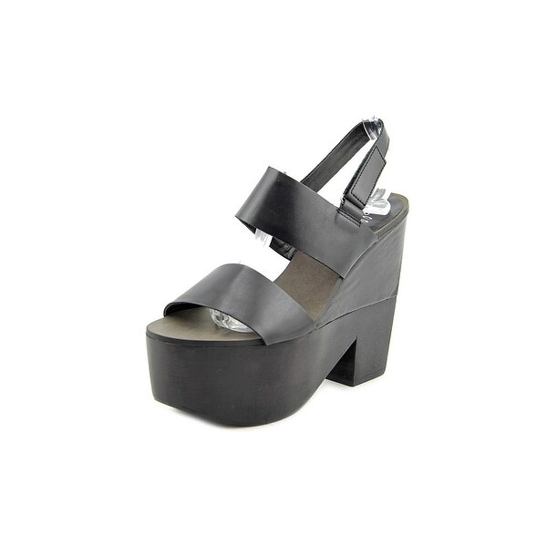 Shellys London Valbruna Women Open Toe Leather Platform Sandal