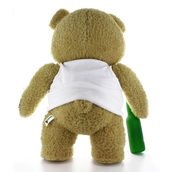 """Ted 2 Movie-Size 24/"""" Talking Plush Ted in Tank Top *Explicit*"""