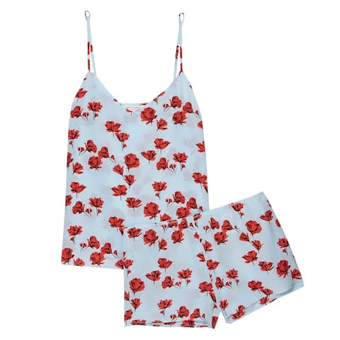 Equipment Womens Alexy Floral Pajamas