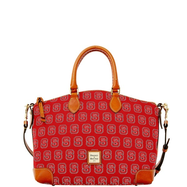 Dooney & Bourke NCAA NC State Satchel (Introduced by Dooney & Bourke at $248 in Aug 2015) - Red