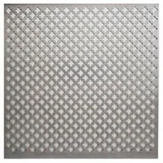 """Cloverleaf - Aluminum Metal Sheet 12""""X12"""""""
