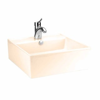 Above Counter Bathroom Vessel Square Bone China Renovator's Supply