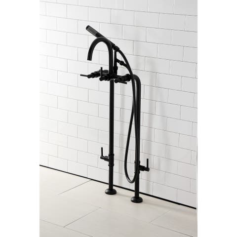 Concord Freestanding Tub Faucet with Supply Line