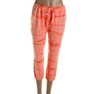 Jessica Simpson Womens Abby Cotton Dip-Dye Lounge Pants - S