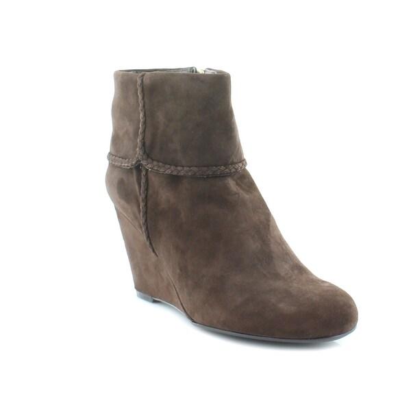 Isaac Mizrahi Live! Veracruz Women's Boots Dark Brown
