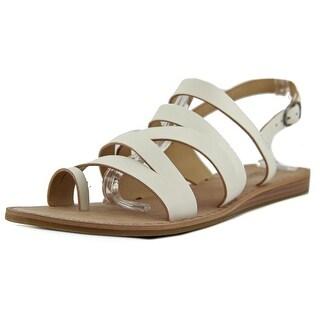 Lucky Brand Fairwayy Women Open-Toe Leather Slingback Sandal