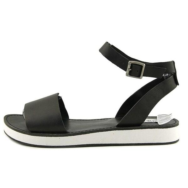 Steve Madden Womens miley Open Toe Casual Slide Sandals - 9