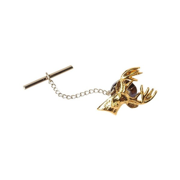 Legendary Whitetails Men's Hunter Gold Tie Tacks - One Size Fits most