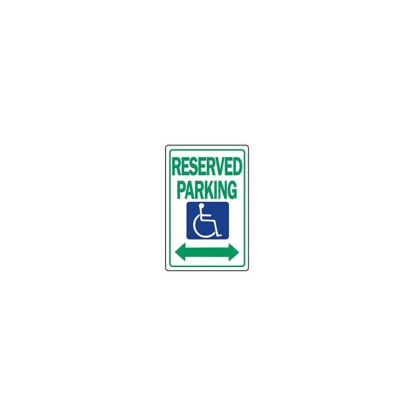 Hy-Ko 12X18 Reserved Park Sign