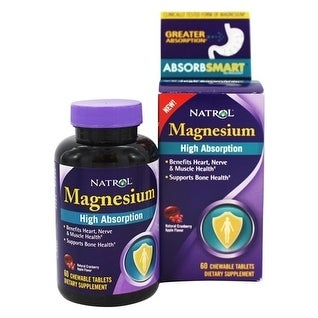 Natrol Magnesium High Absorption (60 Tablets)