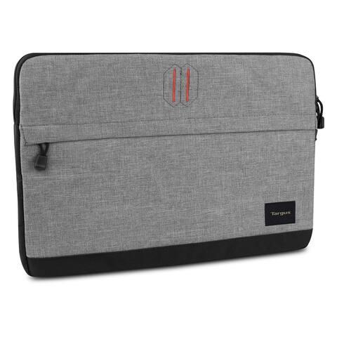 Targus Strata Laptop Sleeve for 15.6 Notebooks, Pewter