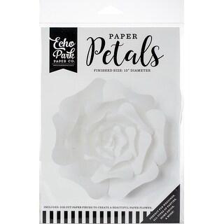 Echo Park Paper Petals-Large White Rose