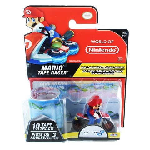 Nintendo Tape Racers Wave 2: Mario w/ Cloud Top Cruise Tape - Multi