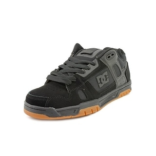 DC Shoes Stag Men Round Toe Leather Skate Shoe