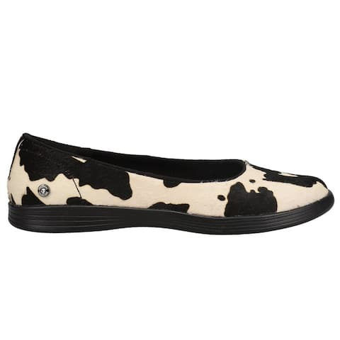 Skechers On The Go Dreamy Howdy Cow Print Slip On Flats Womens Flats