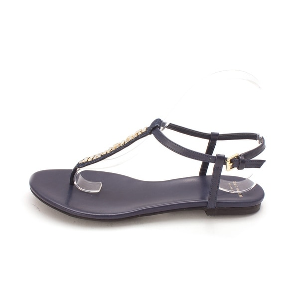 Cole Haan Womens 14A4128 Open Toe Casual T-Strap Sandals