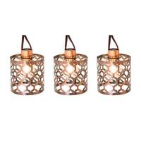 Living Accents 62AG611S Living Accent  G14 Moroccan Light Set, Clear, 10 lights