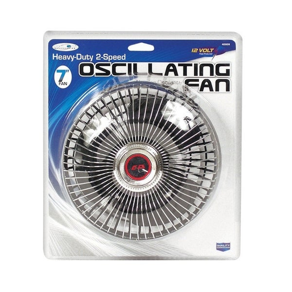 "Custom Accessories 40009 Oscillating Fan, 6"", 12 V"