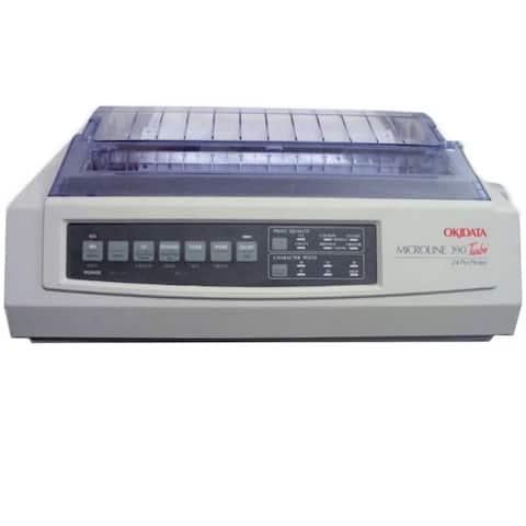 Okidata 62411901 microline 390 turbo - personal - monochrome - dot-matrix - 312 cps - 360 dpi x 3 - Beige