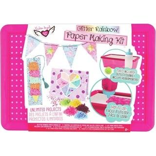 Glitter Rainbow Paper Making Kit-