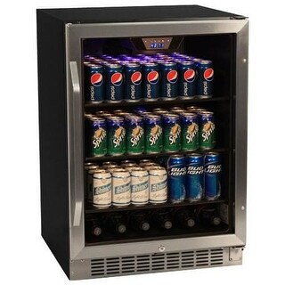 EdgeStar CBR1501SG 24 Inch Wide 148 Can Built-In Beverage Cooler with Tinted Door|https://ak1.ostkcdn.com/images/products/is/images/direct/94449add0c3703df660628f5454b92eec8785003/EdgeStar-CBR1501SG-24-Inch-Wide-148-Can-Built-In-Beverage-Cooler-with-Tinted-Doo.jpg?_ostk_perf_=percv&impolicy=medium