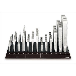 Beta Tools 000380702 38DS2 - Wall Mounted Display 65 Chisels