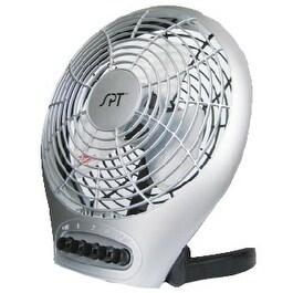 Sunpentown SF-0703 7 Inch Desktop Fan with Ionizer
