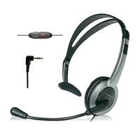 Panasonic KX-TCA430 Telephone Headset Noise Cancelation Mic Volume Control