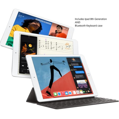 Ipad 10.2 32GB 8th Generation with with Keyboard case