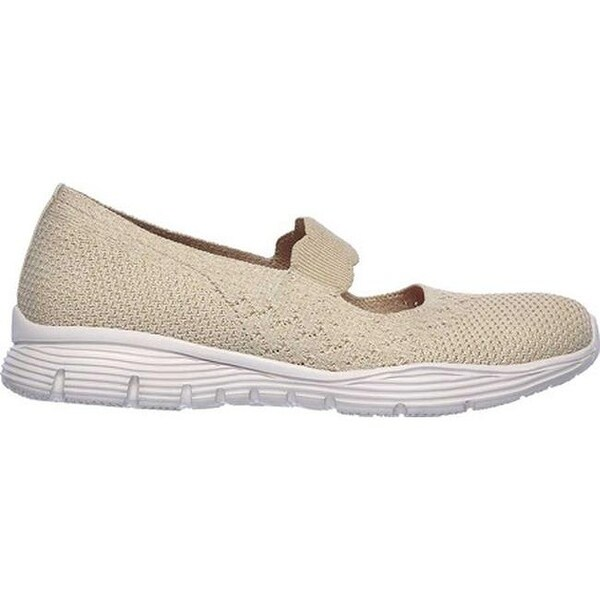 Shop Skechers Women's Seager Power Hitter Mary Jane Natural