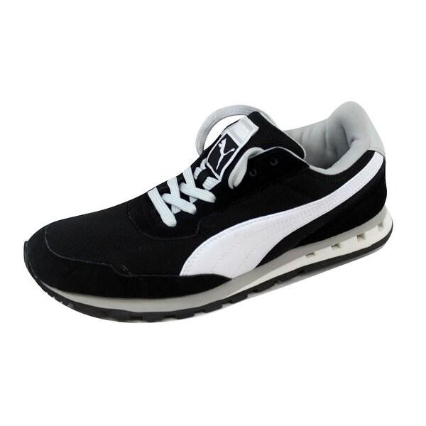 Puma Men's Kabo Runner Black/White-Gray Violet 352986 03 Size 7