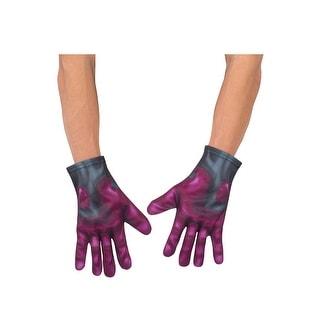 Rubies Civil War Vision Adult Gloves - Purple